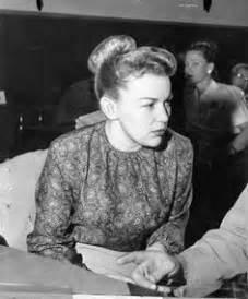 Barbara Graham sits waiting in the courtroom. | Barbara ...