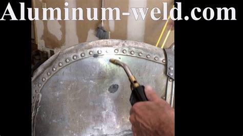 aluminum boat rivet repair  hts   youtube