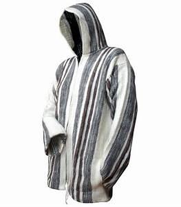 Veste En Laine Homme : veste pour homme avec capuche laine de mouton ~ Carolinahurricanesstore.com Idées de Décoration