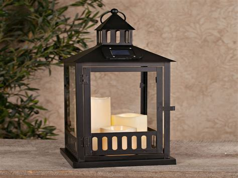 Outdoors Lanterns : Solar Post Lanterns Outdoor, Large Outdoor Solar Lanterns