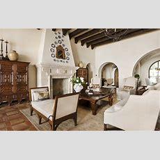 Lake Conroe Spanish  Mediterranean  Living Room  Austin