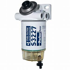 Racor 10 Micron Spin-on Series Fuel Filter  Water Separator  B With Prime