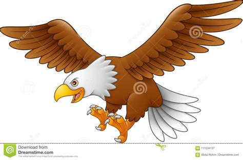 Cartoon Eagle Flying Stock Illustrations 963 Cartoon Eagle