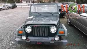 97 98 99 Jeep Wrangler Manual Transmission 6 Cyl 814800
