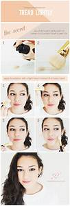 makeup how to apply foundation