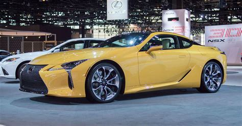 lexus lc inspiration     yellow roadshow