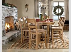 Krinden Rectangular Counter Height Extendable Dining Room
