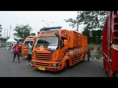 Truk Modifikasi Ceper by Modifikasi Truk Ceper Canter Top Line Orange Edition