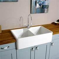 white kitchen sink Astini Belfast 800 2.0 Bowl Traditional White Ceramic ...