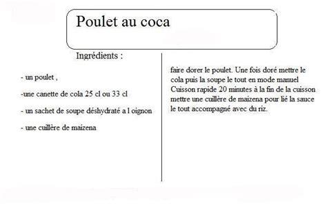 cuisine coca cola poulet au coca recettes cookeo