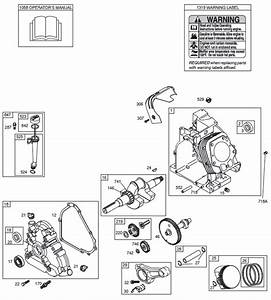 Briggs And Stratton 203400 Illustrated Parts Diagrams