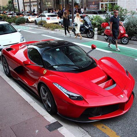 Ferrari Laferrari Painted In Rosso Corsa Photo Taken By
