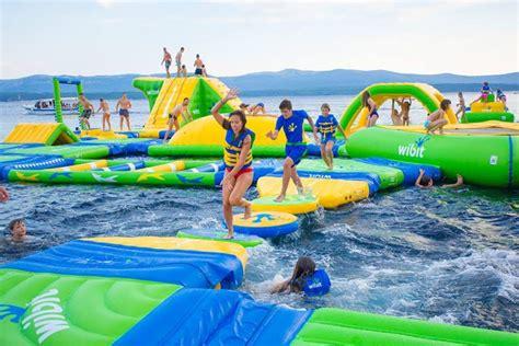 Wibit Sylvan Lake Aqua Splash | Family Fun Calgary