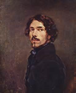 Self Portrait - Eugene Delacroix - WikiArt.org ...