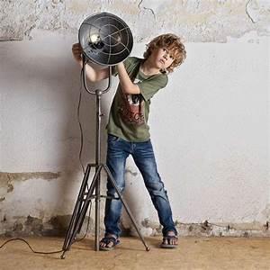 Stehlampe Skandinavisches Design : vintage stehlampe spotlight metall standleuchte lampe metall h 167 cm vintage lampen ~ Orissabook.com Haus und Dekorationen
