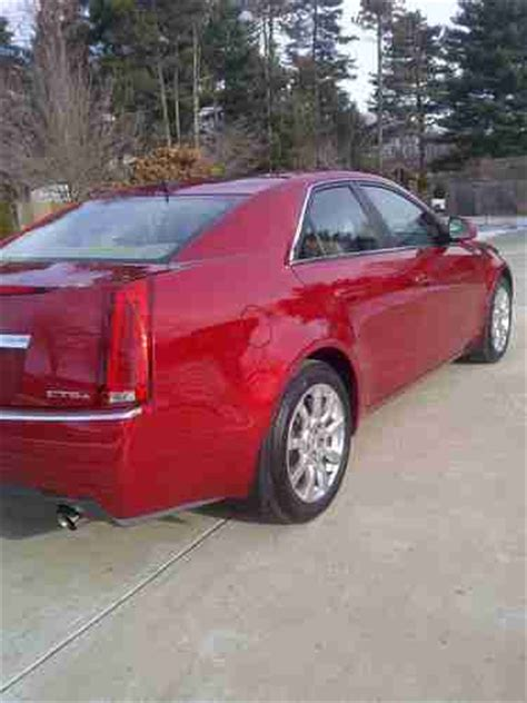 Cadillac Cts Sunroof by Sell Used 2008 Cadillac Cts 4 Awd Sunroof 3 6 Leather