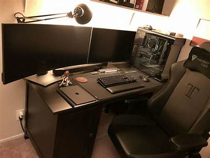 Setup Gaming Desk Pc Gamer Computer Office