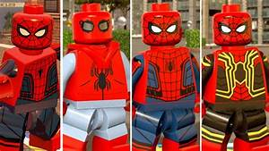 All MCU Spider-Man Characters in LEGO Marvel Games! (Super ...
