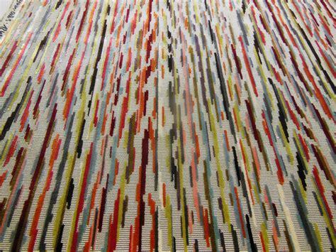 tissus siege tissu velours motif zébré multicolore tissus ameublement