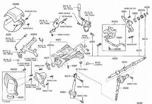 Toyota Tundra Steering Column Housing Support  Support
