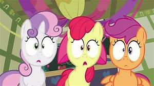Image - Cutie Mark Crusaders shocked S2E17.png | My Little ...
