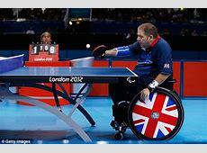 London 2012 Paralympics Paul Davies win table tennis
