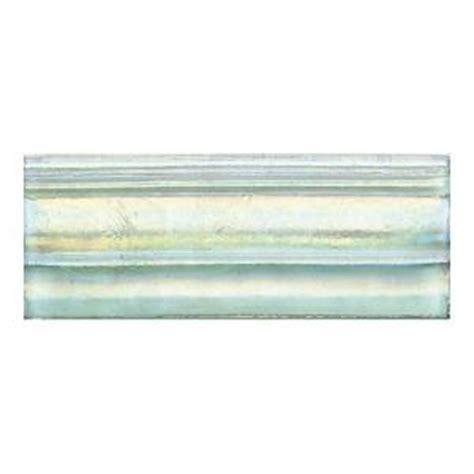Daltile Cristallo Glass Aquamarine 3 in. x 8 in. Glass