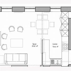 12 idees de cuisines avec plans et photos cote maison With plans de cuisines ouvertes
