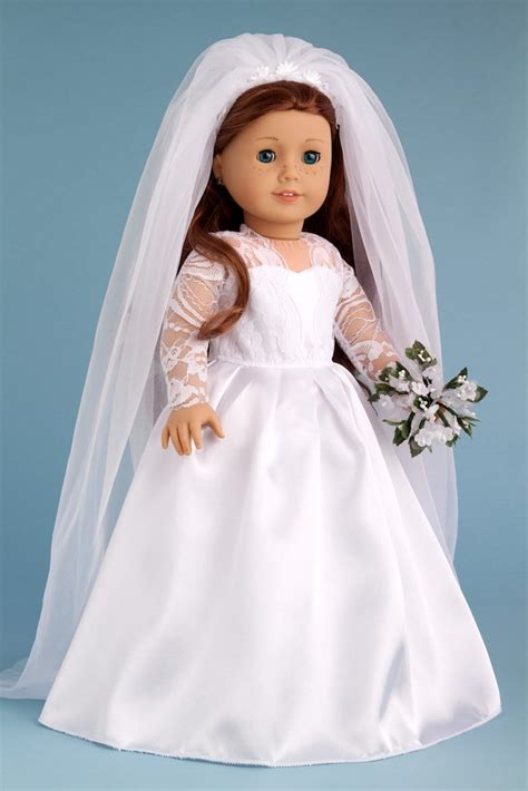 doll wedding dresses princess kate clothes for 18 inch doll