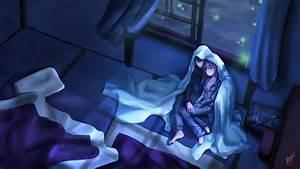 Dark Anime Scenery Wallpaper HD Widescreen 2765 - HD ...