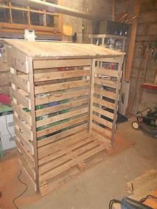 Plan Atelier Bricolage : abri bois en palette pour exterieur instructions de ~ Premium-room.com Idées de Décoration