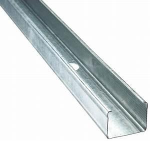 Tube Acier Brico Depot : montant profil en acier galvanis type c34 46 36 l 3 m ~ Dailycaller-alerts.com Idées de Décoration