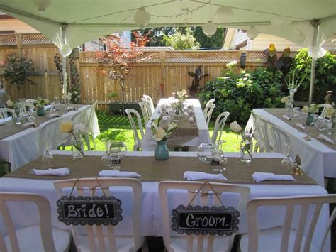 backyard wedding small backyard wedding best photos wedding ideas