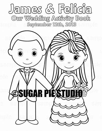 Coloring Printable Activity Personalized Pdf Favor