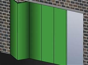 Porte De Garage Pliante À La Française 4 Vantaux : portes de garage comptoir des bois ~ Nature-et-papiers.com Idées de Décoration
