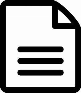 File-text File Document List Paper Page Svg Png Icon Free ...  File