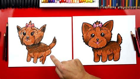 draw  yorkie art  kids hub