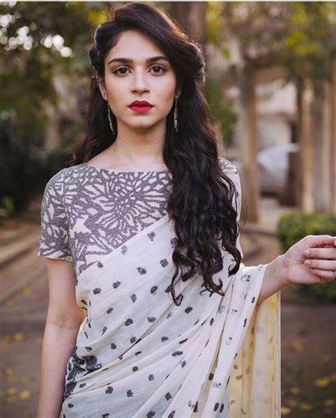 hairstyle  saree