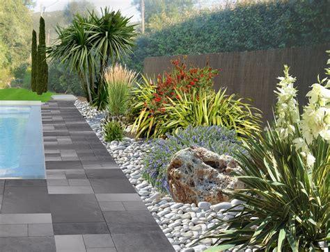 decoration parterre avec galets exemple de decoration de jardin dootdadoo id 233 es de conception sont int 233 ressants 224 votre