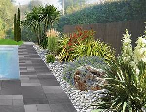 amenager un jardin de galets With marvelous amenagement petit jardin mediterraneen 2 decoration jardin autour dune piscine