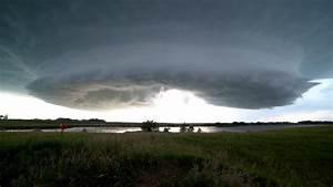 Minnesota Tornado Warned Storm  U0026 Vivid Lightning  9