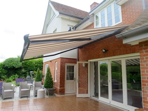 large electric patio awning fitted  southampton awningsouth