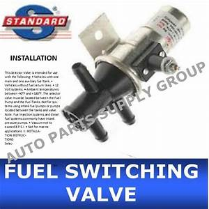 New Fuel Tank Selector Switching Valve 3 Port Main Aux Gas