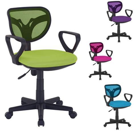 chaise de bureau enfant chaise de bureau color 233 e