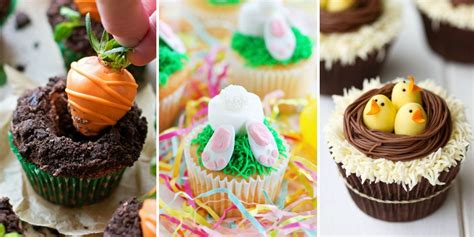 Decorating Ideas For Easter Cupcakes by 12 Easter Cupcake Ideas Decorating Recipes For