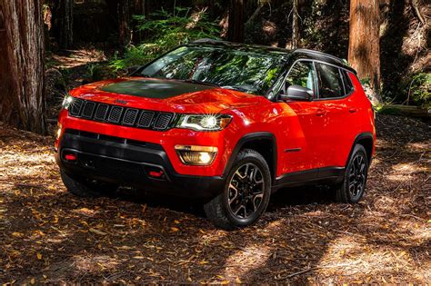 jeep compass 2017 red refreshing or revolting 2017 jeep compass motor trend