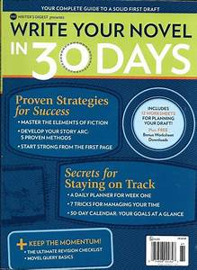 Writers Digest Magazine Write Your Novel In 30 Days