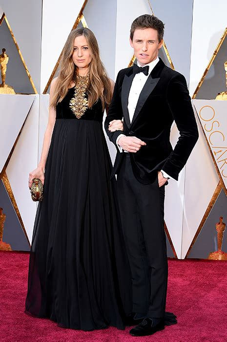 Oscars Hollywood Glamorous Couples Walk The Red Carpet