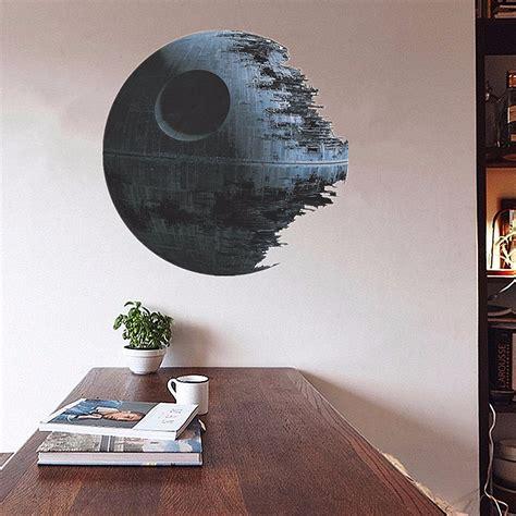 cm removable death star wars wall stickers art vinyl