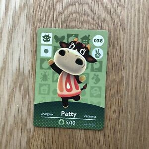 All 24 cards from the legend of zelda! Patty 038 Animal Crossing ACNH Amiibo Card Nintendo Series 1 Authentic   eBay
